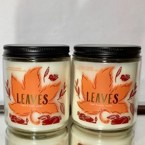 LEAVES Single Wick Candles